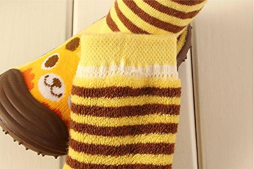 Chausson Lapin Antidérapant Blanc Gaorui Garçon Coton Bébé Fille Chaussures Chaussettes Intérieures qHH4fwIZ