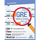 GRE Words In Context: List 2 (Test Prep Series)