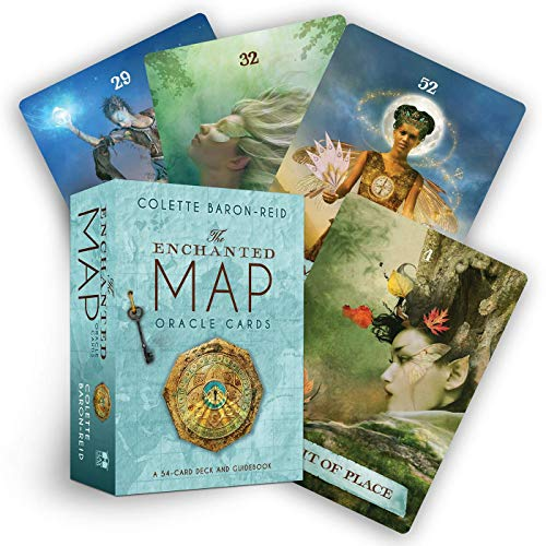The Enchanted Map Oracle Cards: A 54-Card Deck and Guidebook