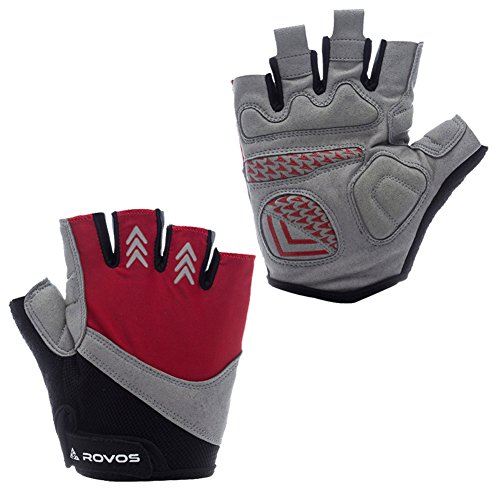 sbd-rovos-mens-sports-half-finger-professional-training-biking-riding-gloves-cycling-accessariesreds