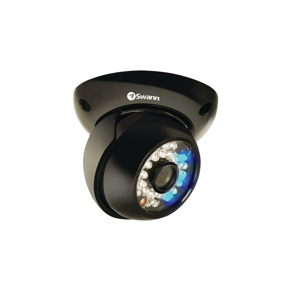 Swann Ads 191 Flashing Dome Cmos Camera With Built In Motion Detection SWADS 191CAM US