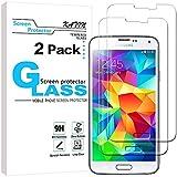 Galaxy S5 Screen Protector - KATIN [2-Pack] Samsung Galaxy S5 , 9H Premium