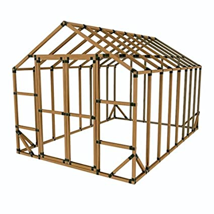 amazon com sale 10x16 basic greenhouse kit do it yourself by