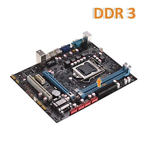 Core H55 (Festnight Motherboard H55 Motherboard LGA1156 DDR3 Supports I3 I5 I7 CPU Motherboard)