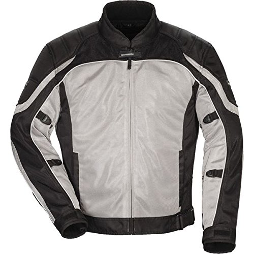 ake Air 4.0 Jacket Silver/Black, X-Large ()