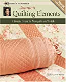 Quilting Elements, Joanie Poole, 0896896501