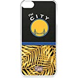 Skinit NBA Golden State Warriors iPod Touch 6th Gen LeNu Case - Golden State Warriors Retro Palms Design - Premium Vinyl Decal Phone Cover