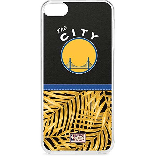 Skinit NBA Golden State Warriors iPod Touch 6th Gen LeNu Case - Golden State Warriors Retro Palms Design - Premium Vinyl Decal Phone Cover by Skinit