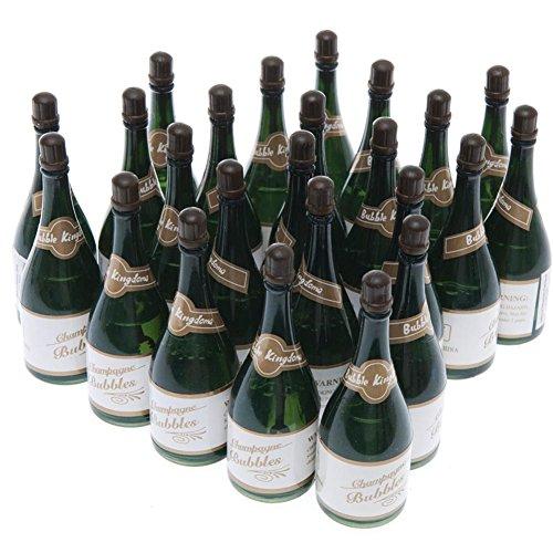 Champagne Bottle Shaped Blowing Bubbles 2 Dozen