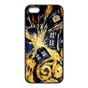 DAZHAHUI Magical oil painting house Cell Phone Case for Iphone 5s