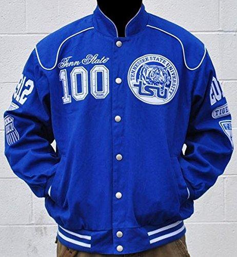 ブルーTennessee Stateジャケット – nascar-style CentennialサイズL B077R8SLZD