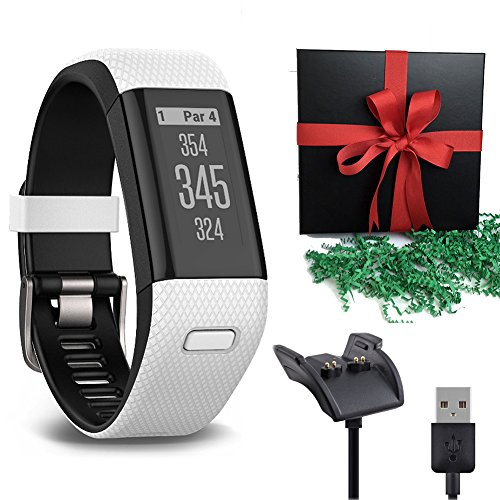 Nippon Steel Golf Shafts (Gift Package: Garmin Golf GPS Watch Approach X40, White/Black Band + 1 USB Charging/Data Cable)