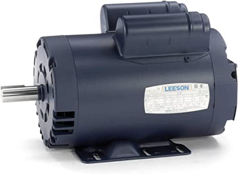 "115//230V 56C 5//8/"" Shaft General Purpose 2HP Electric Motor 1PH 1750RPM,New."
