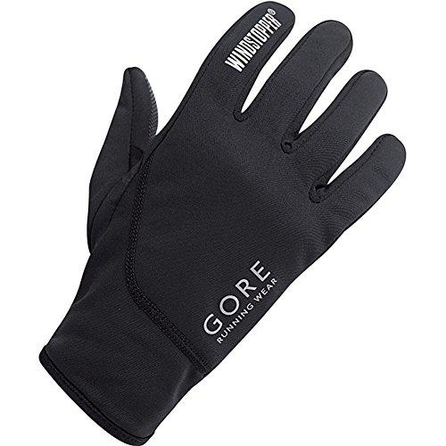 GORE RUNNING WEAR Men's ESSENTIAL SO Gloves EU Size 8 black ()