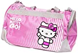 Hello Kitty Sports Duffle Bag, Pink, 20.5 x 11.8-Inch
