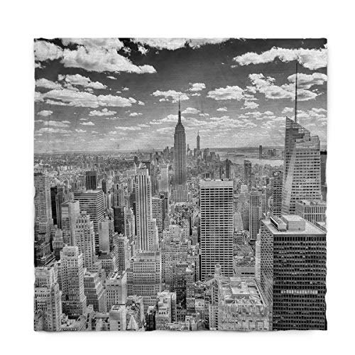 Fantasy Star Rectangle Polyester Tablecloth, New York City Tablecloths Machine Washable Table Cover Decorative Table Cloth for Kitchen Dinning Banquet Parties 60 x 162 Inch for $<!--$59.40-->