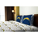 NFL Anthem San Diego Chargers Bedding Sheet Set: Full