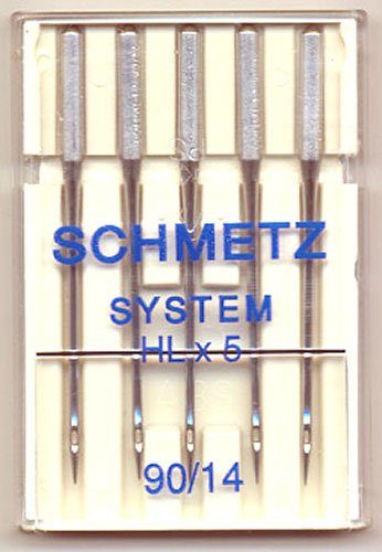 Schmetz HLX5 Quilting Needle Sz14/90 5 Pk
