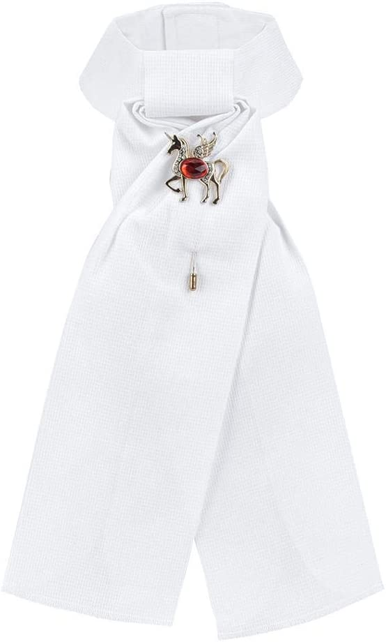 Redxiao Corbata de Equitación, Accesorio Ecuestre Corbata de Flores, Flor de Collar Ecuestre, para Equitación Adultos Competición Profesional