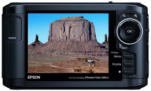 Epson P-5000 80GB Multimedia Storage Drive, Viewer, and Audio-Video Player w/ 4-Inch LCD