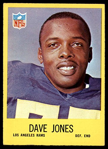 Football NFL 1967 Philadelphia #90 Deacon Jones EX Excellent LA Rams ()