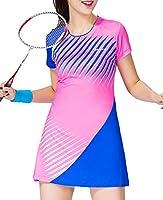Womens Pro Tennis Dress Breathable Team Golf Skort