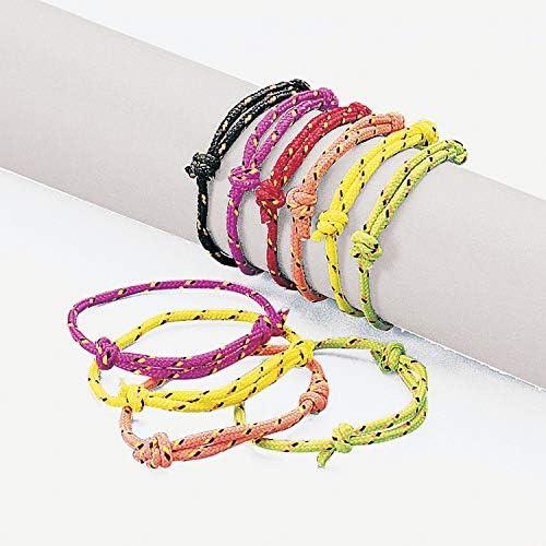Half Finished Adjustable Bracelet Friendship Bracelet TS101 Cord Bracelet 9,5 inchess 24cm Cotton Rope Bracelet