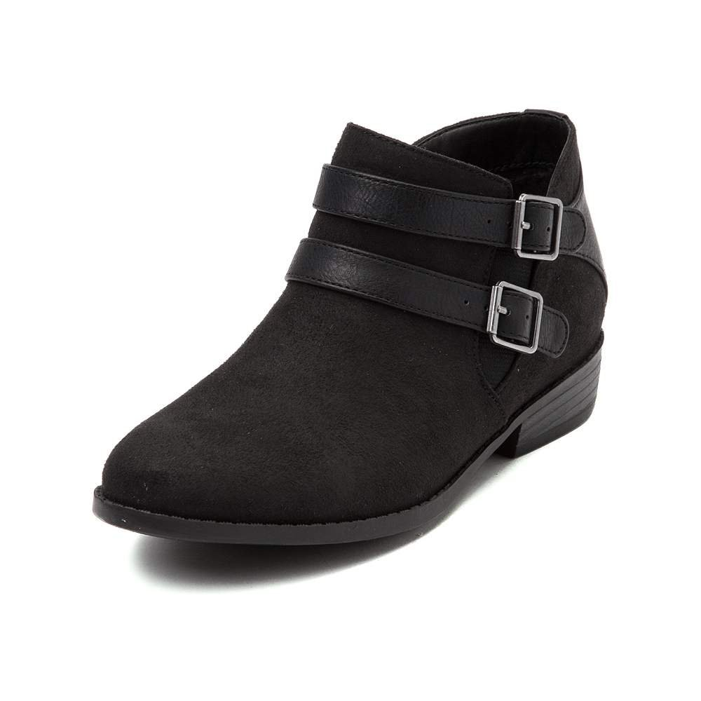 Madden Girl Kest Boot (5 M US Big Kid, Black)