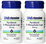 Cheap Life Extension Pyridoxal 5-Phosphate 100 Mg Vegetarian Capsules, 60-Count (120)