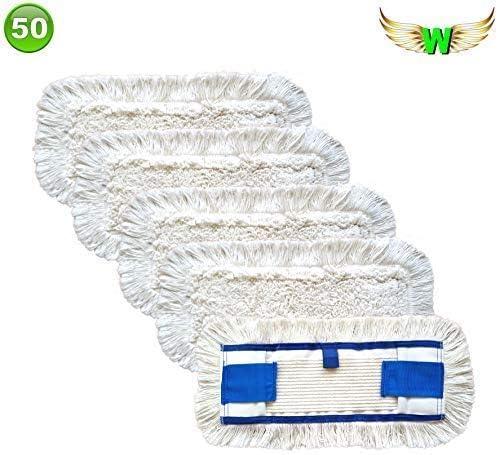 Wings fregona algodón fregona doble función con alas suelo Lavado ...