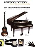 Heritage-Odyssey Music Memorabilia Auction Catalog #612 9781932899689