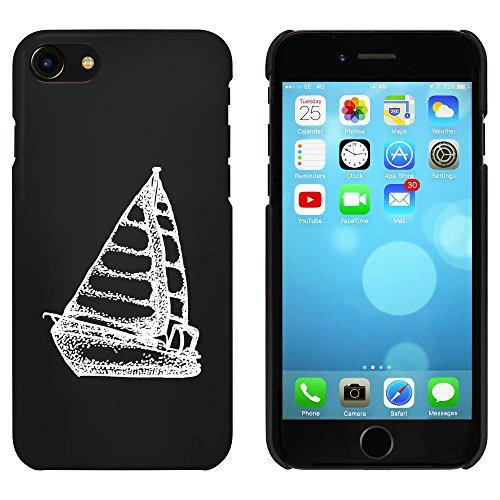 Noir 'Bateau à Voile' étui / housse pour iPhone 7 (MC00071811)