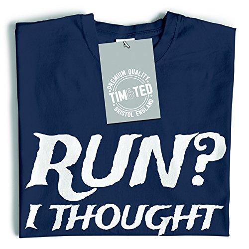 Maglietta Correre And Ted Divertente Rum Yellow Ho Tim Pensato Slogan Dette Che gAtwq