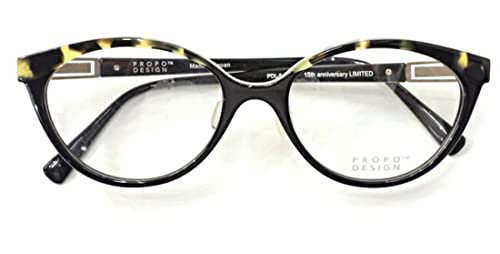 【PROPODESIGN】プロポデザインメガネ PDL-5col.01【正規総代理店品】(度付き非球面 1.74 UVカットレンズ装備)