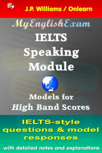 IELTS Speaking Module: Models for High Band Scores Pdf