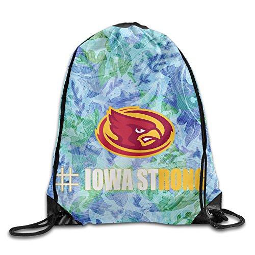 PKTWO Cinch Pack Iowa State University IowaStrong Travel Drawstring (Iowa State Mascot Costume)
