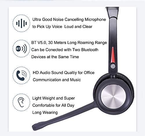 Wireless-Headset-with-Microphone-for-Office-Over-The-Head-Truck-Headset-Wireless-Headphone-for-Cell-Phone