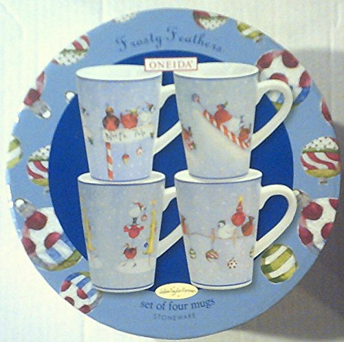 Frosty Feathers Mug Set