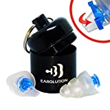 Earolution | High Fidelity Ear Plugs- Best Professional Hearing Protection, 2 Settings Pressure & DB Reduction For Musicians, Live Concert, Drummers, Noise Sensitivity Conditions, Motorcycles And More