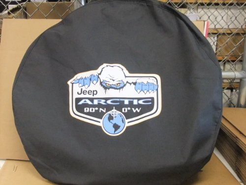 jeep wrangler arctic tire cover - 1