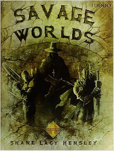 Amazon com: Savage Worlds RPG (S2P10000) (9780976360100