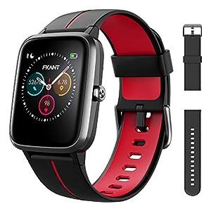 Montre Connectée Homme Femme, GPS Montre Sport 14 Modes étanche IP68 avec Fréquence Cardiaque Soins Sains, Moniteur de…