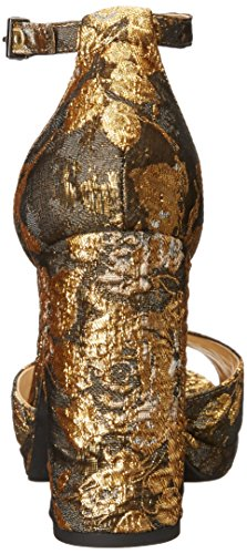 Jenee Metallic Multi Women's Brocade Floral Metallic Simpson Jessica ERWOnq8q