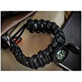 THE #1 BEST : Paracord Bracelet Emergency kit Survival Tool Emergency kit Upgraded Holtzman's