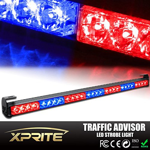 red and blue led strobe lights - 3