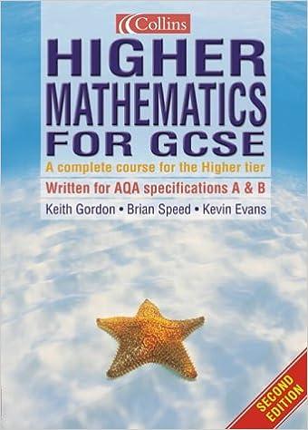 Book Mathematics for GCSE - Higher Mathematics for GCSE