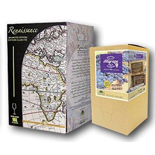 Old Vine Zinfandel with AllGrape Pack Renaissance Impressions Wine Kit (Zinfandel Old Vine)