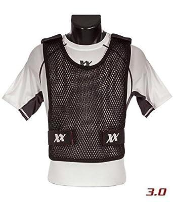 Maxx-Dri Vest 3.0 Body Armor Cooling Ventilation Airflow Tactical Vest (Black, 3XL/4XL 3-Pack)