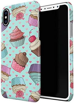 Français Macarons Pastel Love Hearts Tumblr Motif Apple iPhone X ...