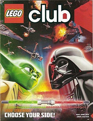 Lego Club Magazine single Issue May June 2014 Star Wars pdf
